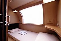 B寝台1人用個室シングル