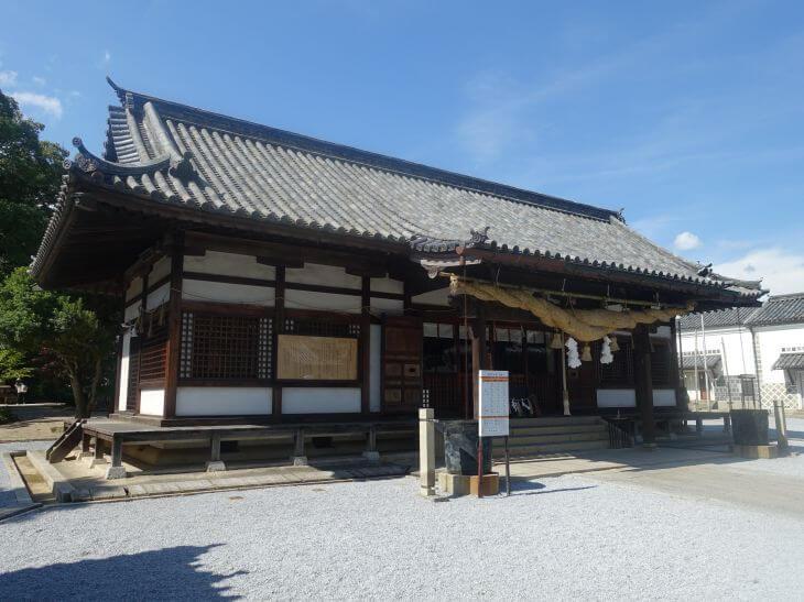 阿智神社の外観の写真