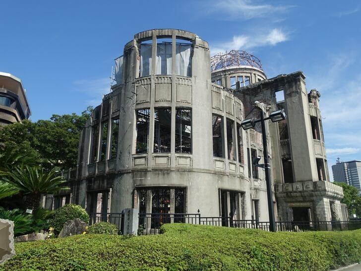 広島の原爆ドームの写真