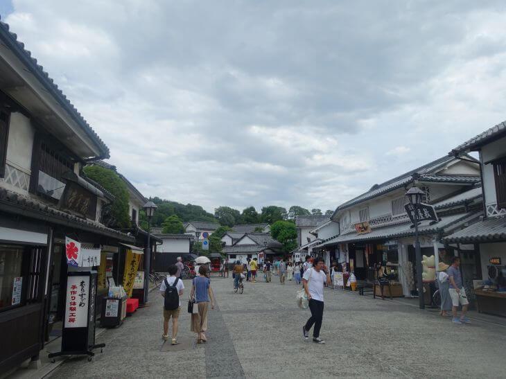 倉敷美観地区の入口の写真