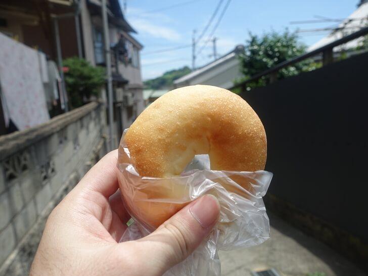 ネコノテパン工場で買ったパンの写真
