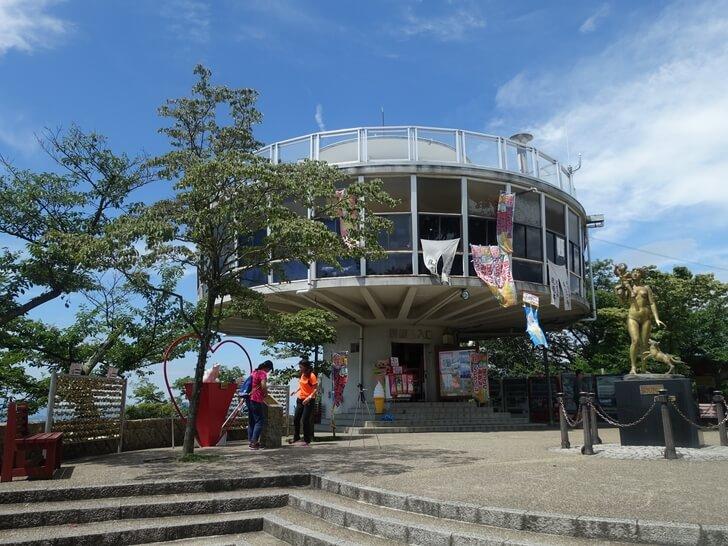 千光寺展望台から見た尾道市の景色