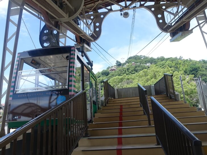千光寺山ロープウェイの写真