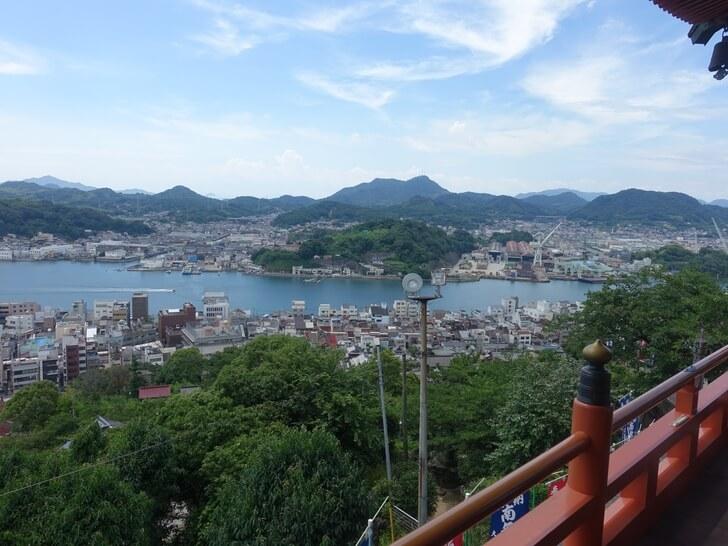 千光寺から眺める尾道の風景