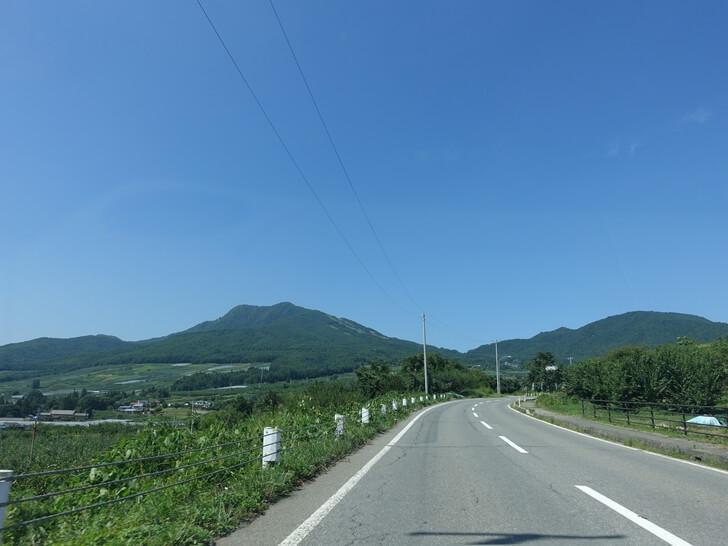 ソラテラスに向う道中の写真その1