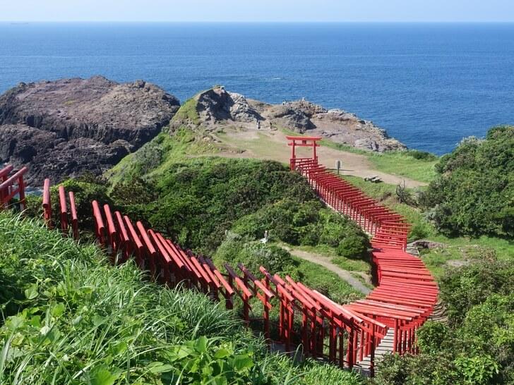 元乃隅稲成神社を撮影した写真