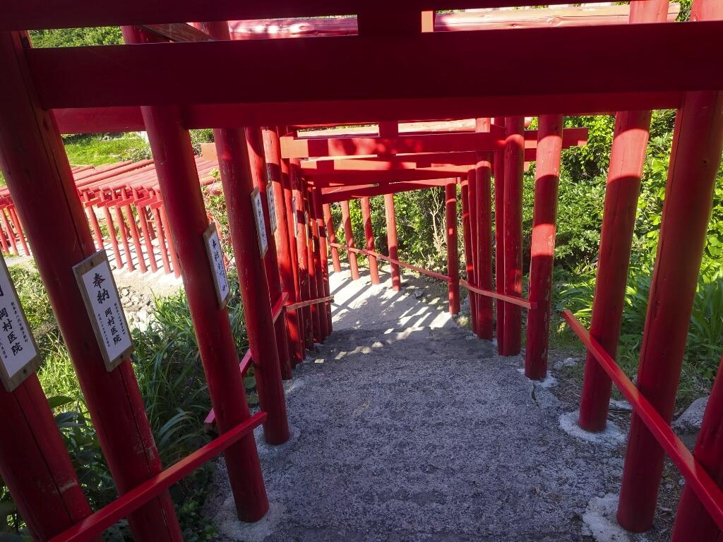 元乃隅稲成神社の鳥居の写真その2