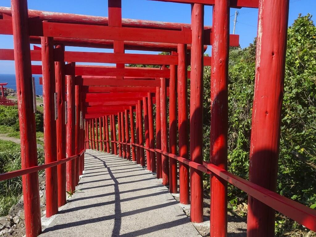 元乃隅稲成神社の鳥居の写真その3