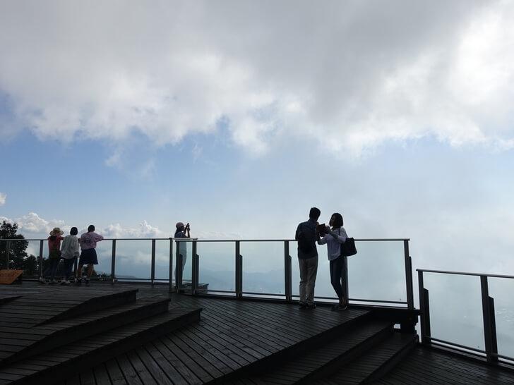 ソラテラスと雲海の写真