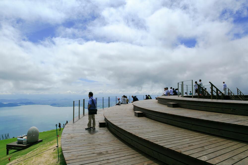 びわ湖バレイcafe360の写真