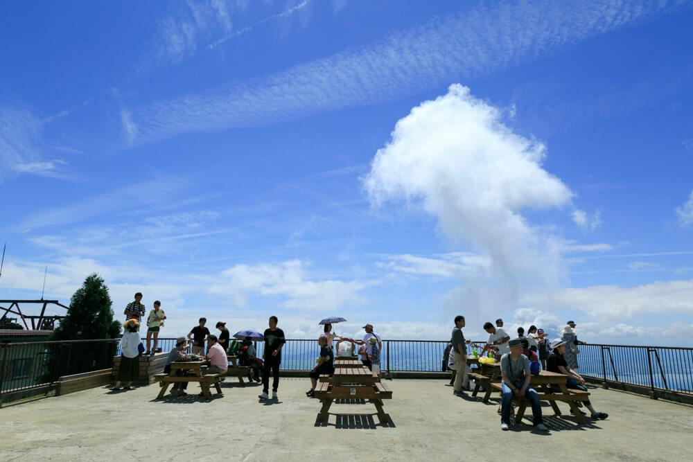 びわ湖テラスの展望台の写真