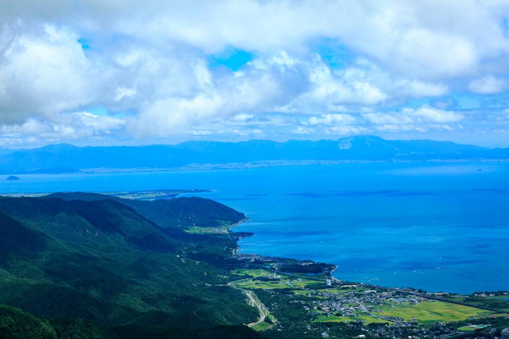 琵琶湖テラスからの眺めを撮影した写真