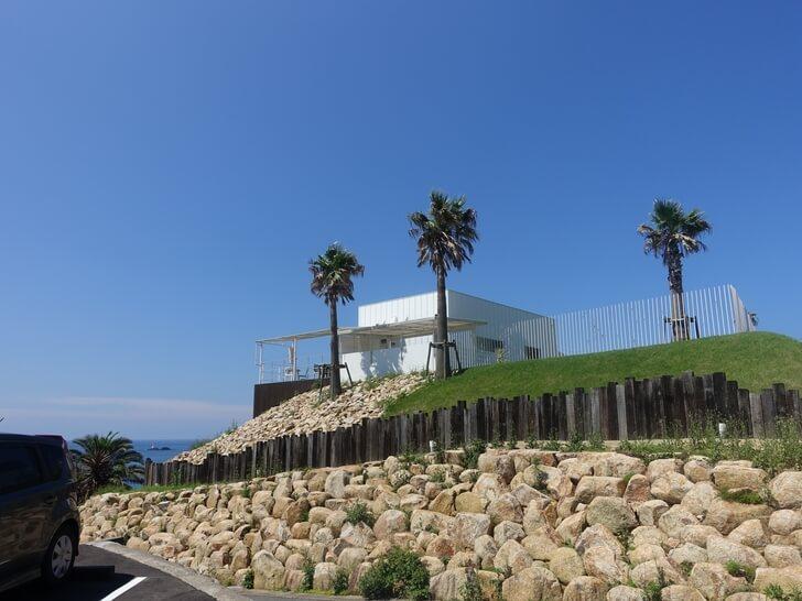 角島大橋を見渡せるレストラン「ガッビアーノ」を撮影した写真その2