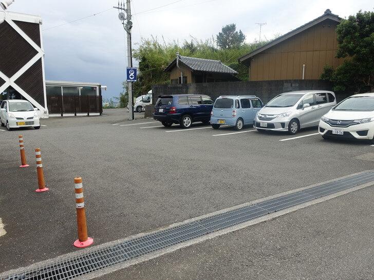 SEAHOUSEの第1駐車場の写真