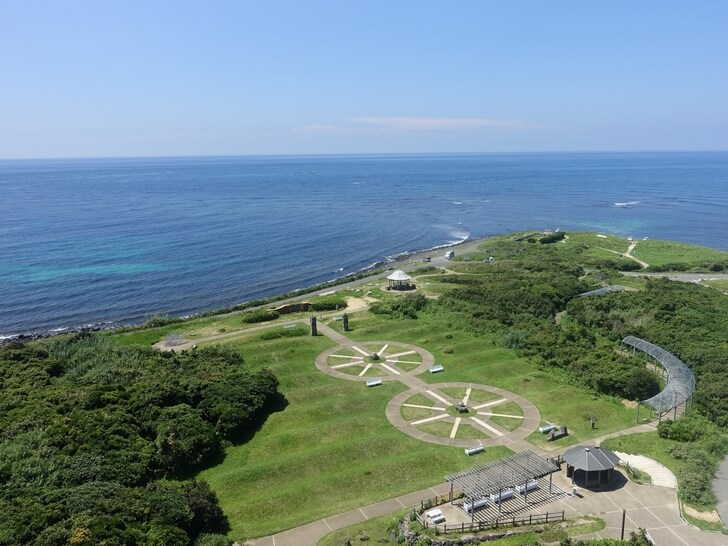 角島灯台から見た景色を撮影した写真その1