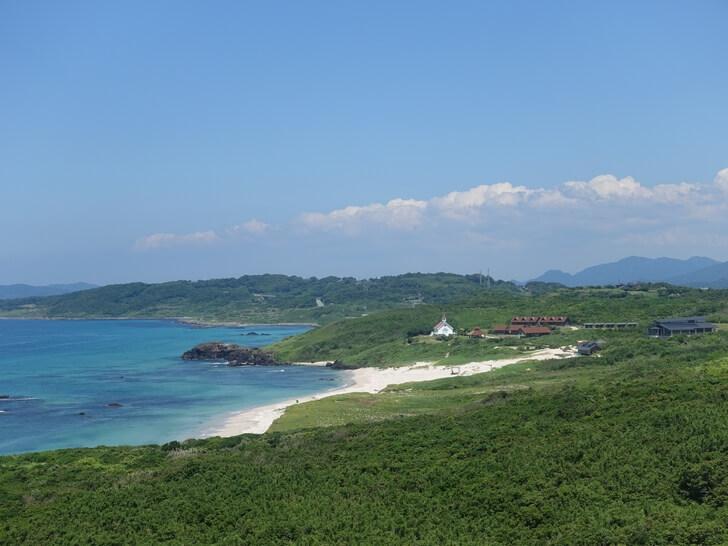 角島灯台から見た景色を撮影した写真その2