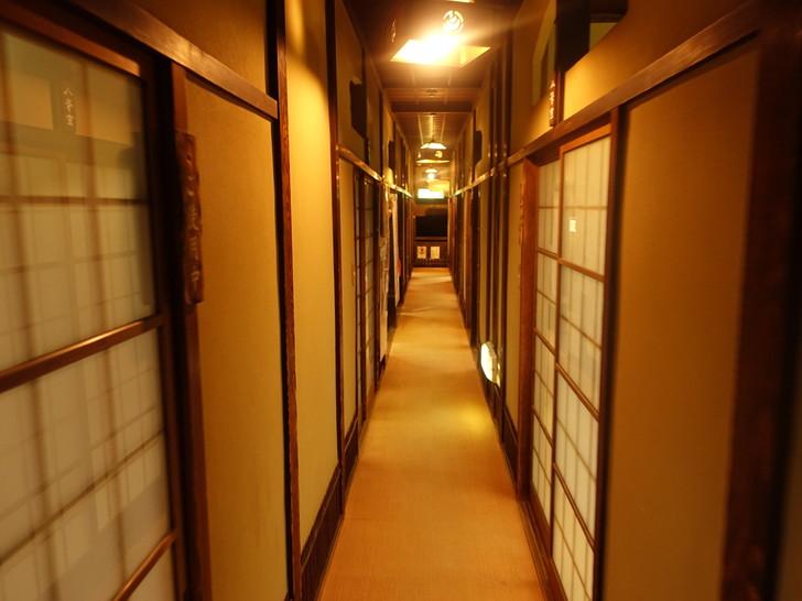 道後温泉本館の館内の写真