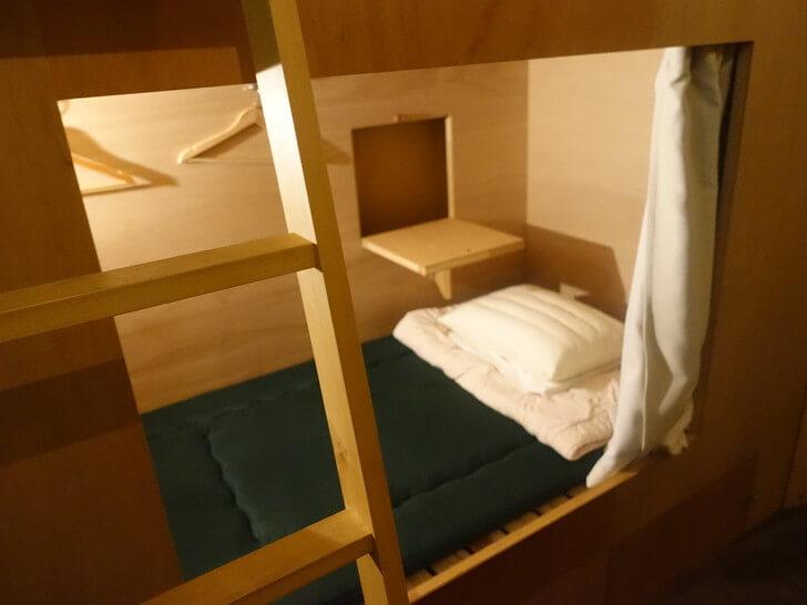 kincoのベッドを撮影した写真