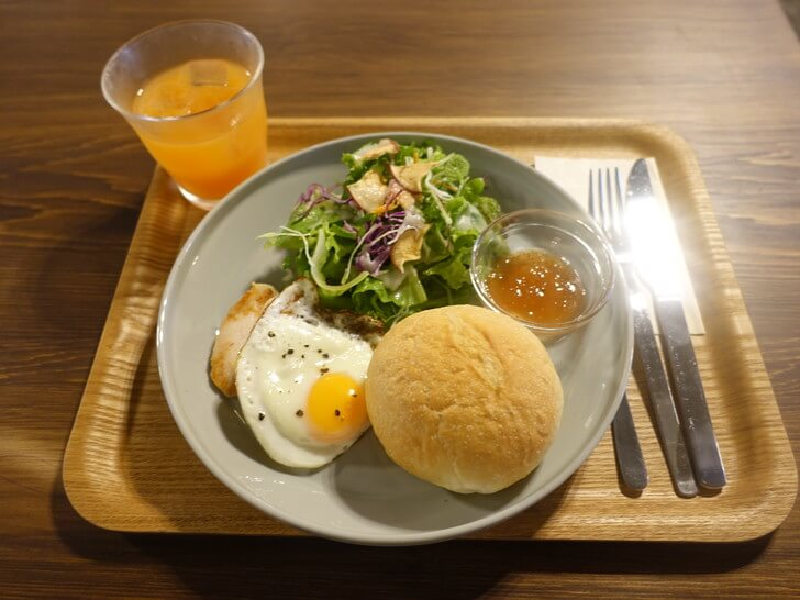 kincoの朝食セットの写真