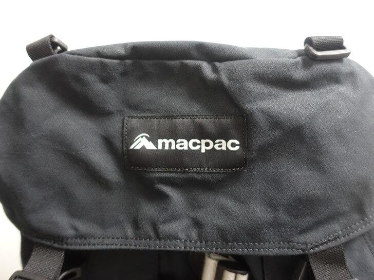 macpackのlogoを撮影した写真