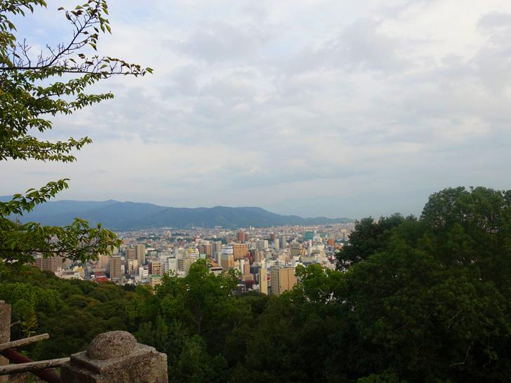 松山市内の風景