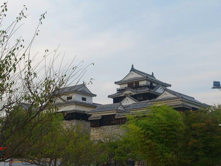 松山城の写真