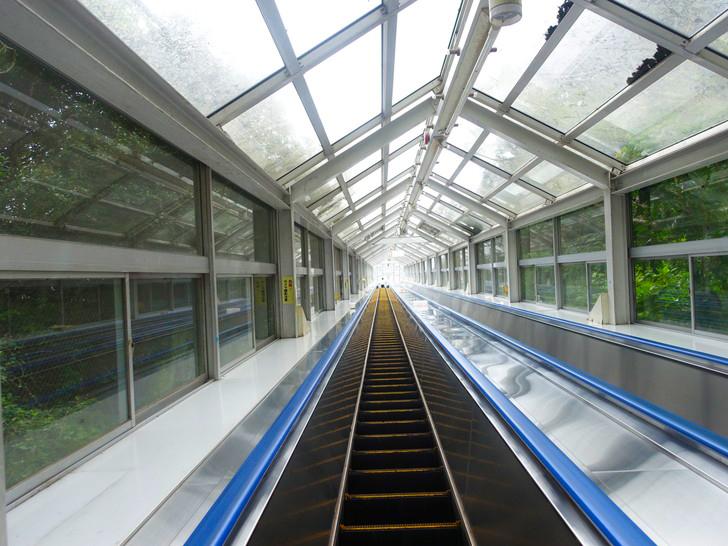 エスカヒル鳴門のエスカレーターの写真