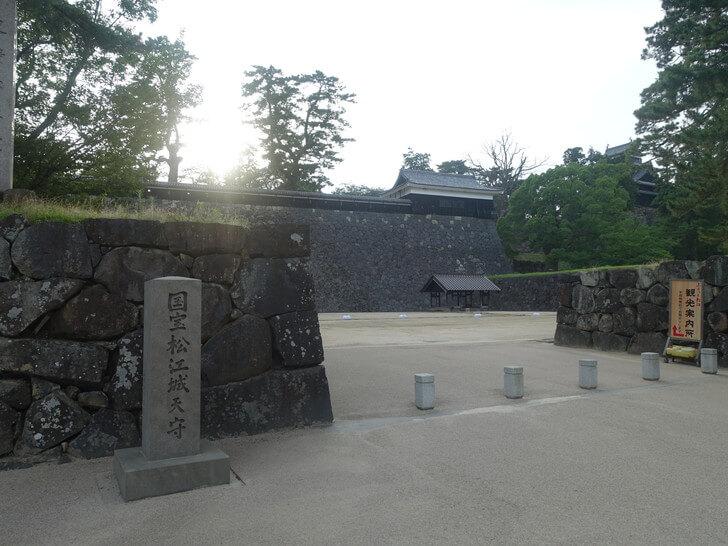 松江市にある松江城の写真その1
