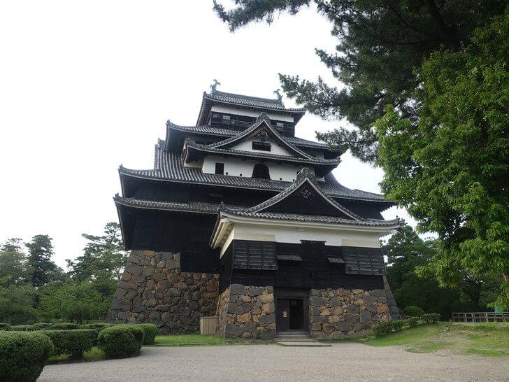 松江市にある松江城の写真その2