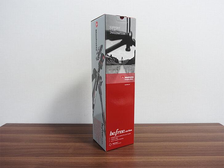 マンフロット「MKBFRC4-BH」の化粧箱