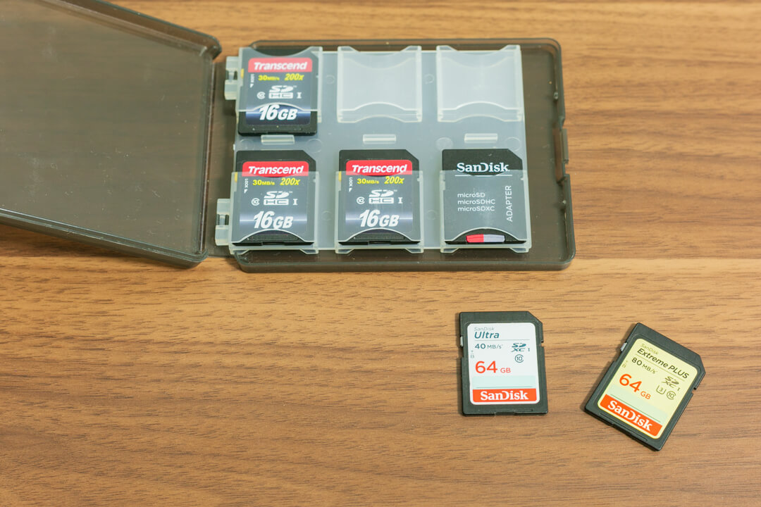 SDカード(記録媒体)の写真