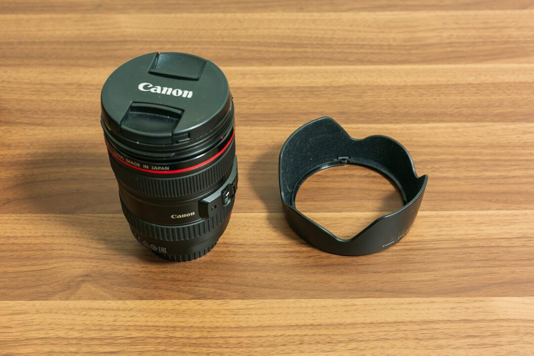 レンズフードの写真