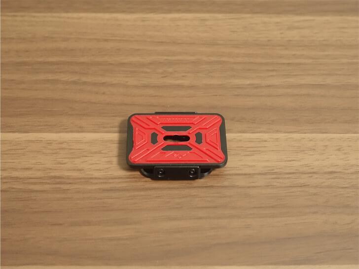 Peak Designのキャプチャープロカメラクリップのプレート