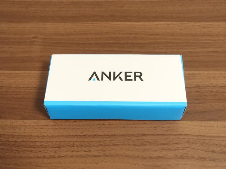 Ankerの「powercore fusion 5000」の化粧箱