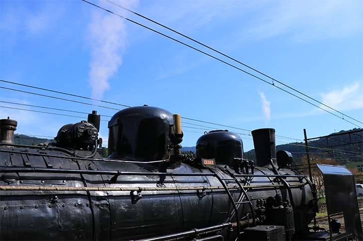 大井川鉄道の蒸気機関車の写真