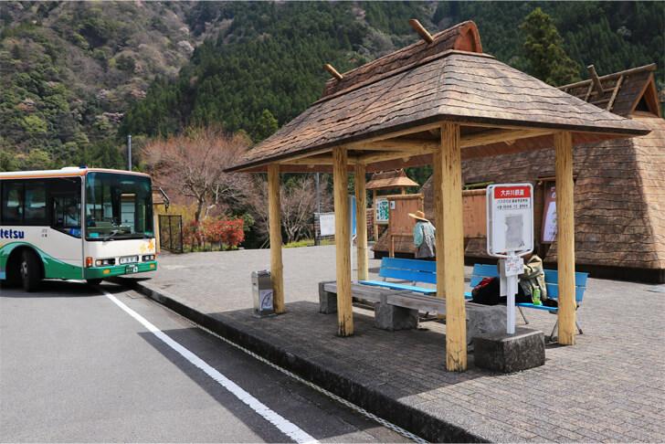 奥泉駅前の写真
