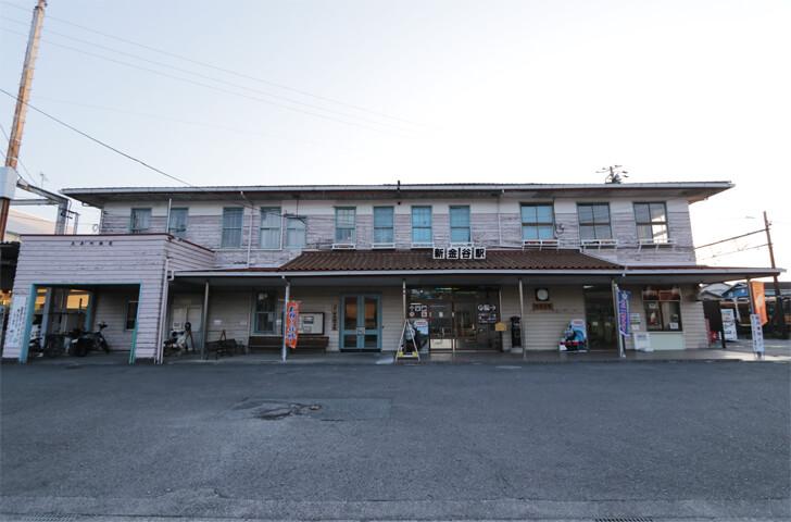 静岡県にある大井川鉄道の新金谷駅の写真