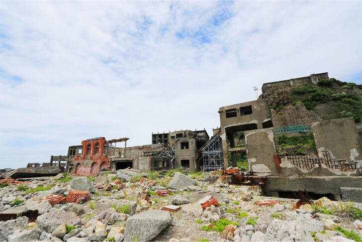 軍艦島総合事務所の写真