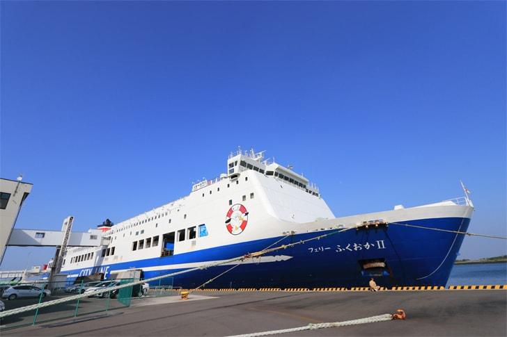 名門大洋フェリーの写真