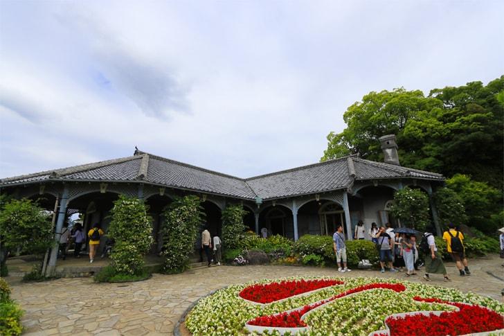 長崎の観光名所・グラバー園の写真