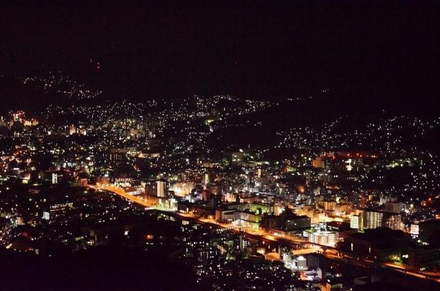 稲佐山の夜景の写真
