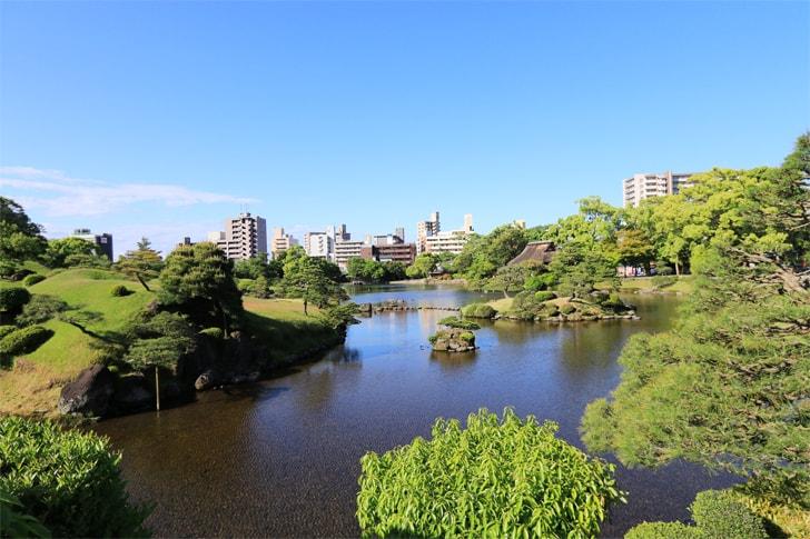 水前寺公園の写真