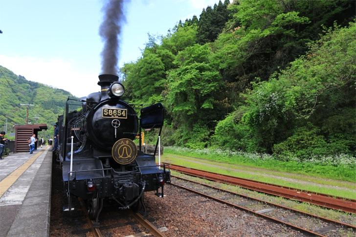 JR九州の観光列車・SL人吉の写真