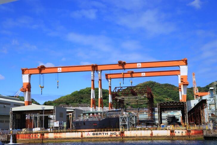 三菱重工長崎造船所の写真