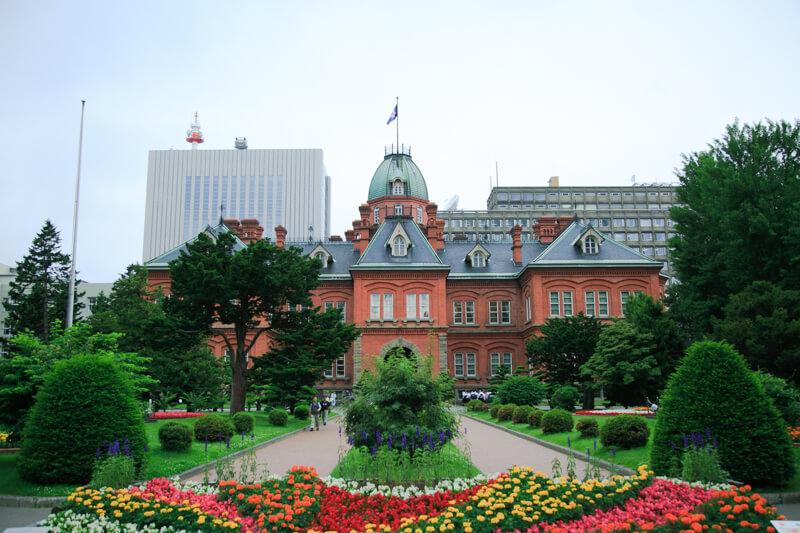 北海道庁旧本庁舎の外観の写真