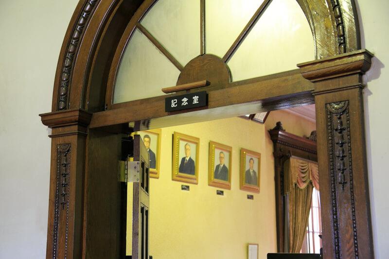 北海道庁旧本庁舎の会議室の写真