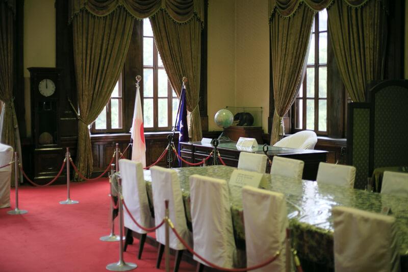 北海道庁旧本庁舎の記念室の写真