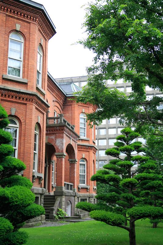 北海道庁旧本庁舎を横から撮影した写真