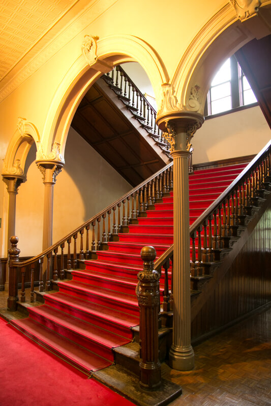 北海道庁旧本庁舎の階段の写真