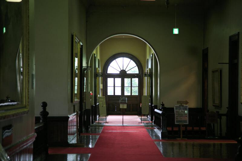 北海道庁旧本庁舎の窓の写真